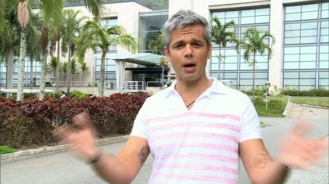 """Otaviano Costa no comando do """"Vídeo Show"""" da última quinta-feira (04). Foto: Reprodução/TV Globo"""